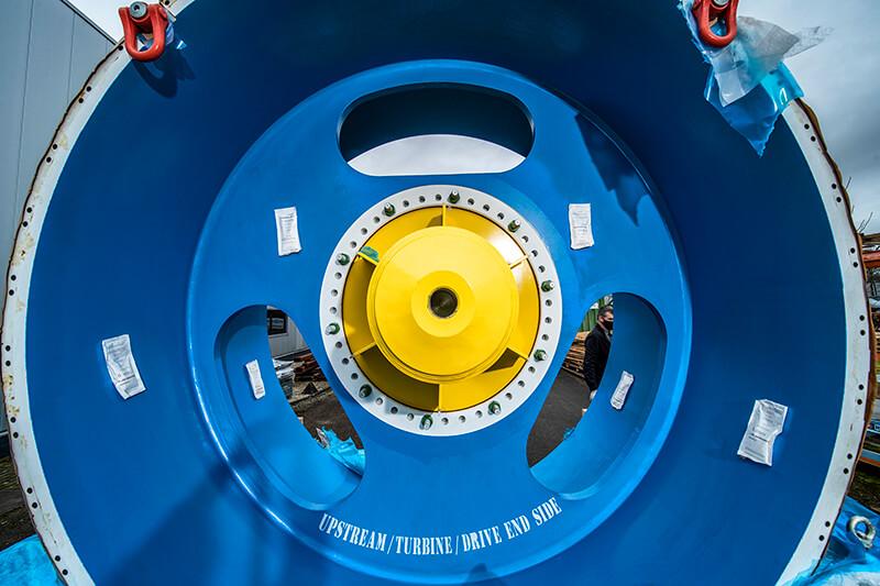 Bakker Magnetics offers solid magnetic solution in prestigious hydro application